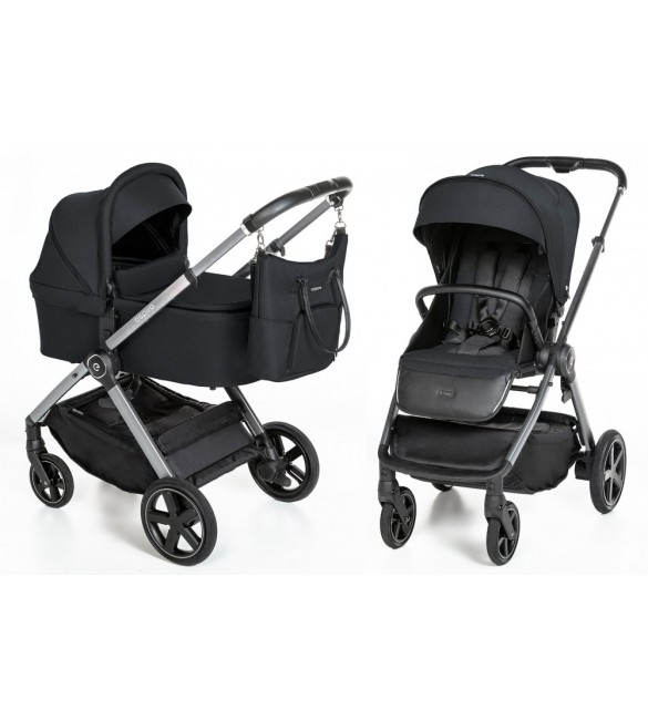 Carucior multifunctional 2 in 1 Espiro Only, Black Space