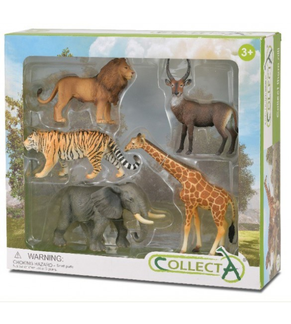 Set 5 buc Animale Salbatice - Collecta