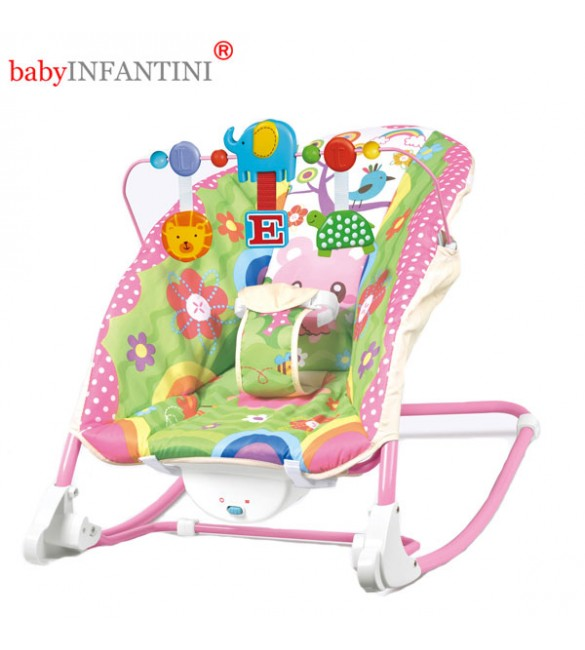 Balansoar 2 in 1 Happy Friends Pink, BabyInfantini