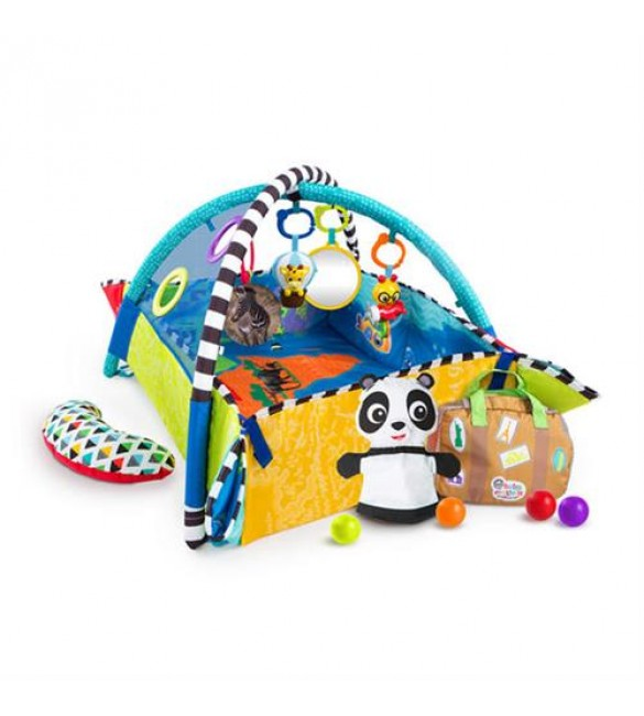 Covoras de joaca 5 in 1 World of Discovery, Baby Einstein