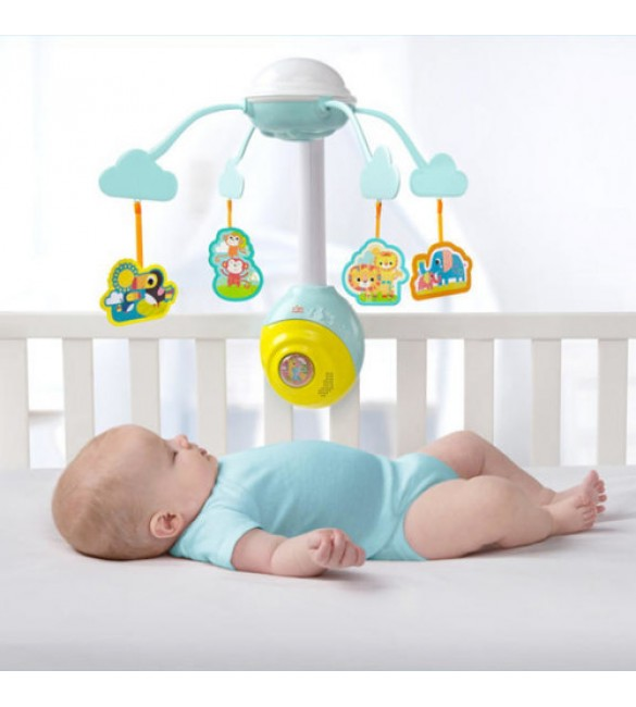 Bright Starts - Carusel muzical Soothing Safari 2 In 1 Mobile