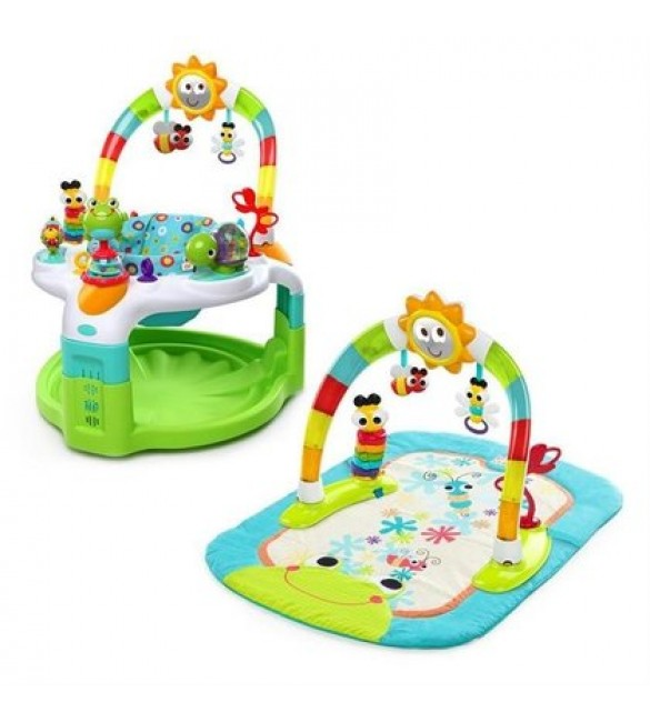 Centru de activitati 2 in 1 Laugh & Lights, Bright Starts
