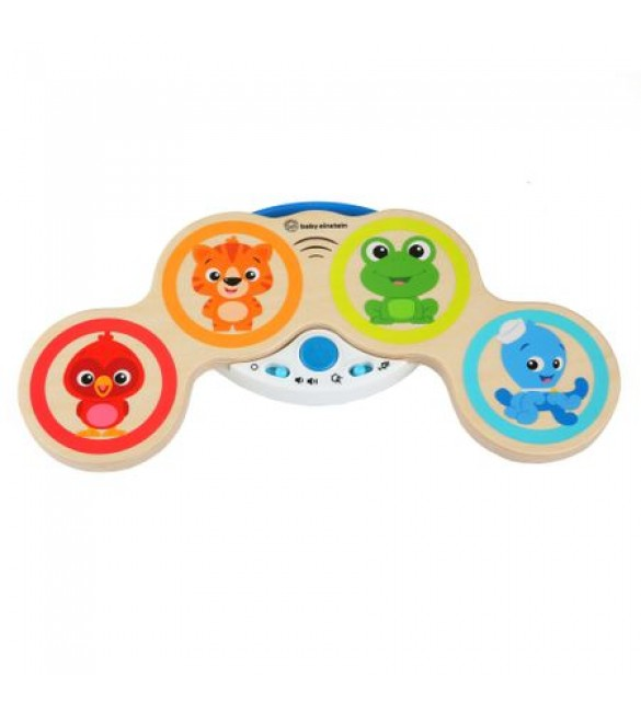 Jucarie muzicala de lemn Hape Magic Touch Drum, Baby Einstein