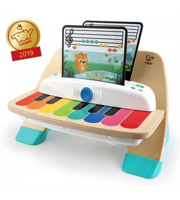 Jucarie muzicala de lemn Hape Magic Touch Piano, Baby Einstein