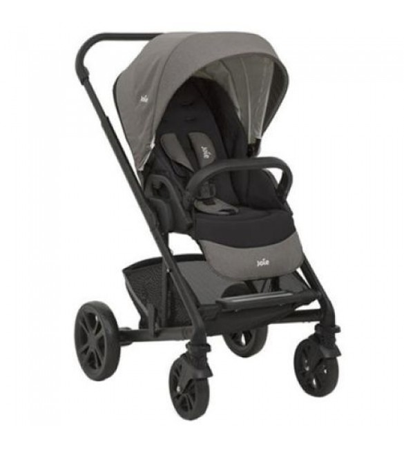 Carucior multifunctional 3 in 1 Chrome Foggy Gray, Joie