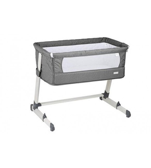Patut co-sleeper 2 in 1 Together Grey BabyGo