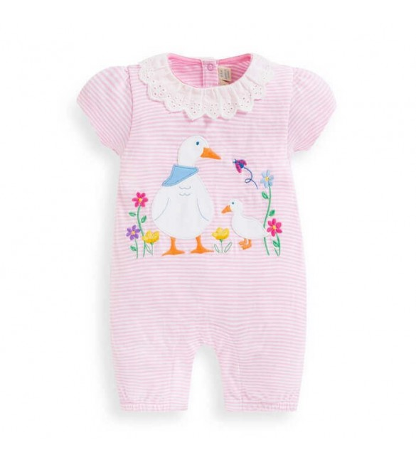 Salopeta Duck Applique Jojo Maman Bebe