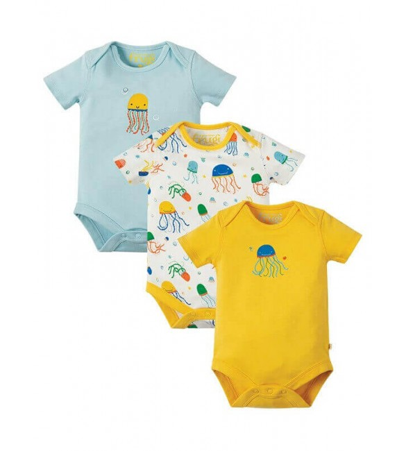 Set 3 Body-uri Special Jazzy Jellies, Frugi