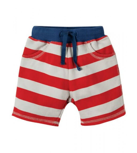 Pantaloni Scurti Little Samson Stripe,Frugi