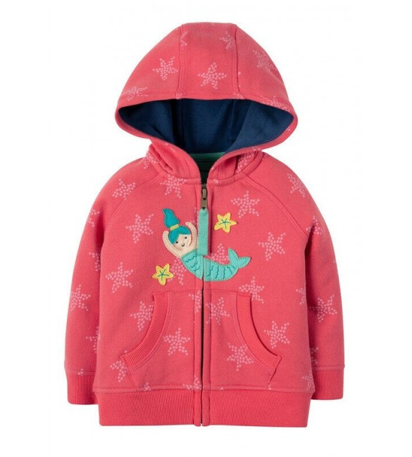 Hanorac Hayle Coral Starfish Spot Mermaid, Frugi
