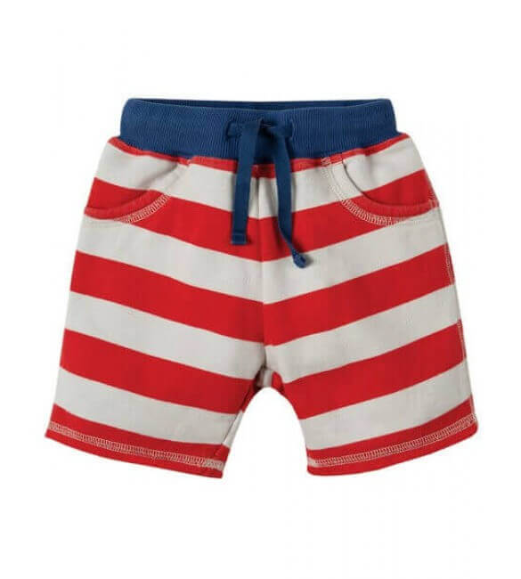 Pantaloni Scurti Little Samson Stripe, Frugi