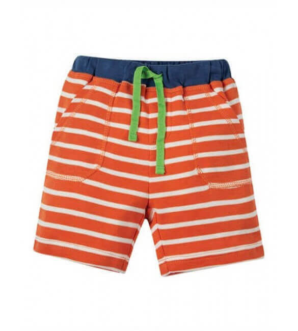 Pantaloni Scurti Little Stripy, Frugi