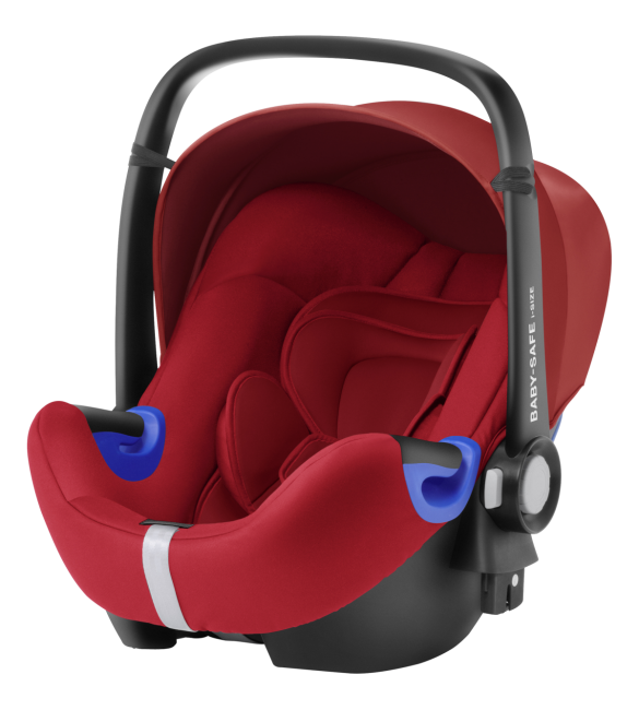 Scaun Auto Britax Romer Baby-Safe I-Size Flame Red 0-13 Kg