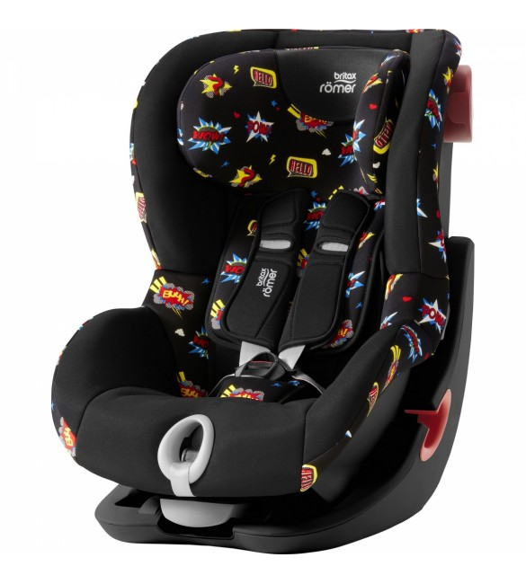Scaun Auto KING II Black Series Comic Fun Britax Romer