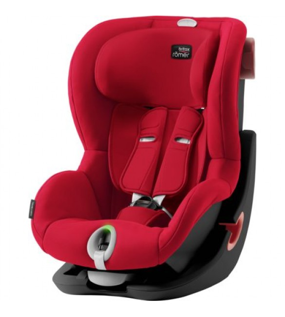 Scaun Auto KING II LS BLACK SERIES Fire Red, Britax Romer