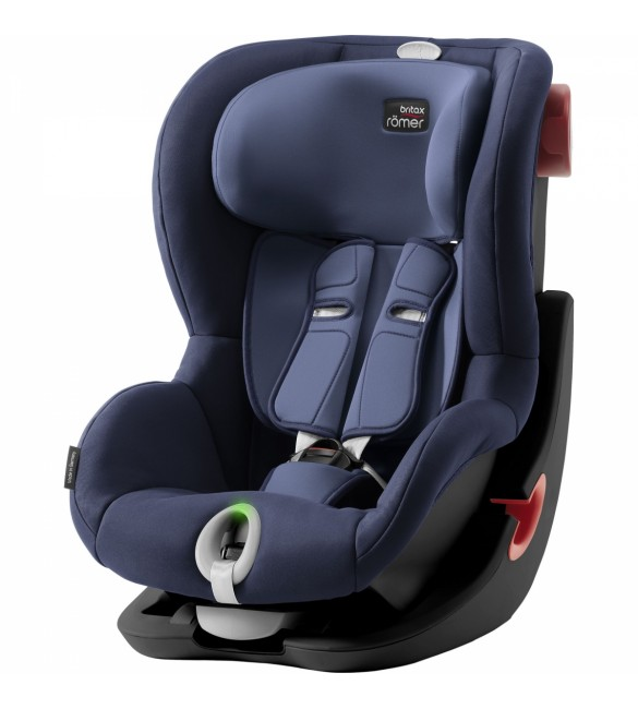 Scaun Auto Britax Romer KING II LS Black Series Moonlight Blue 9-18 kg