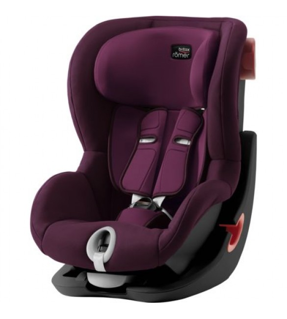 Scaun Auto KING II Black Series Burgundy Red Britax Romer