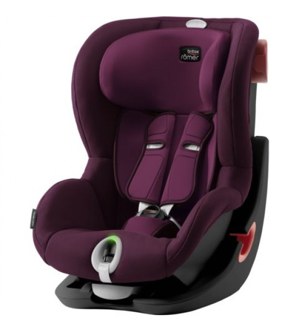 Scaun auto KING II LS Black Series Burgundy Red, Britax Romer