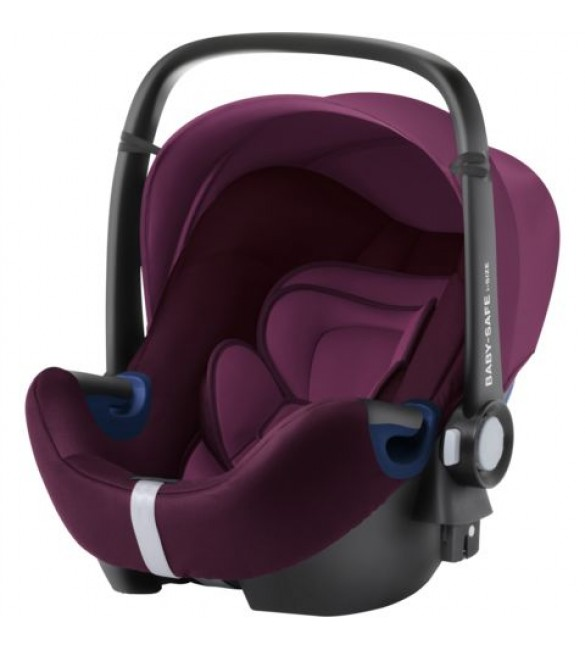 Scoica auto BABY-SAFE i-Size Burgundy Red, Britax Romer