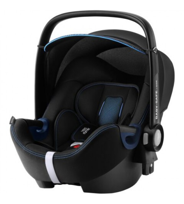Scoica auto BABY-SAFE i-Size Cool Flow  Blue, Britax Romer