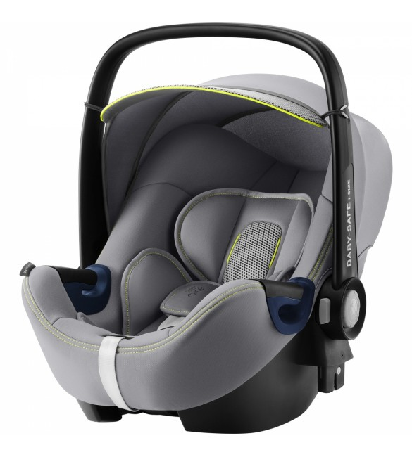 Scoica auto BABY-SAFE i-Size Cool Flow  Silver, Britax Romer