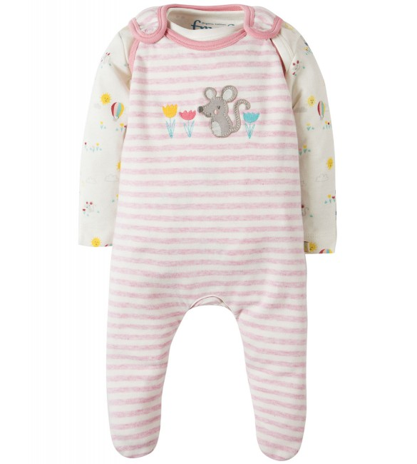 Set Salopeta+Body My First Outfit  Frugi