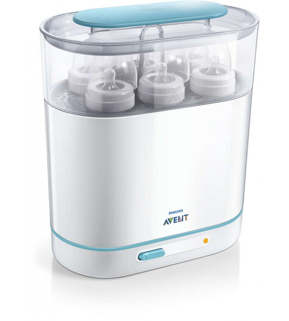 Sterilizator Electric 3 in 1 cu Aburi 220V, Philips Avent