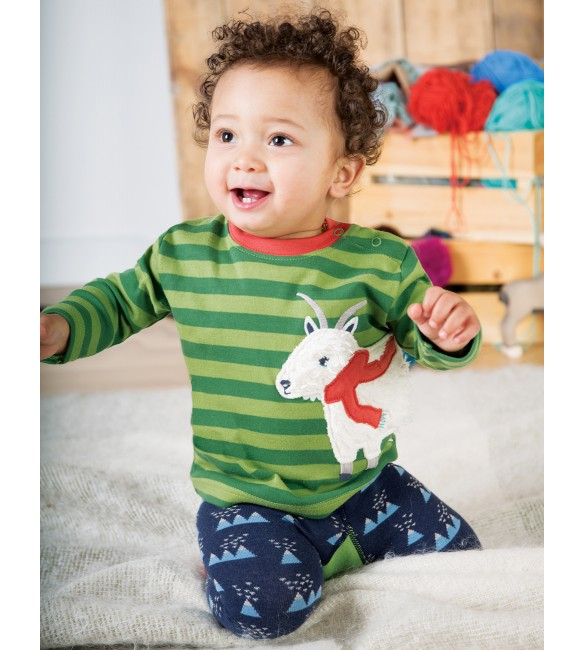 Bluza Little Discovery Applique  Frugi