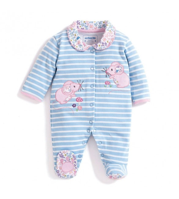 Salopeta Mouse Applique Jojo Maman Bebe