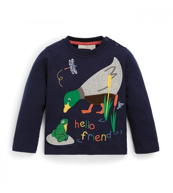 Bluza Hello Friend Duck Jojo Maman Bebe