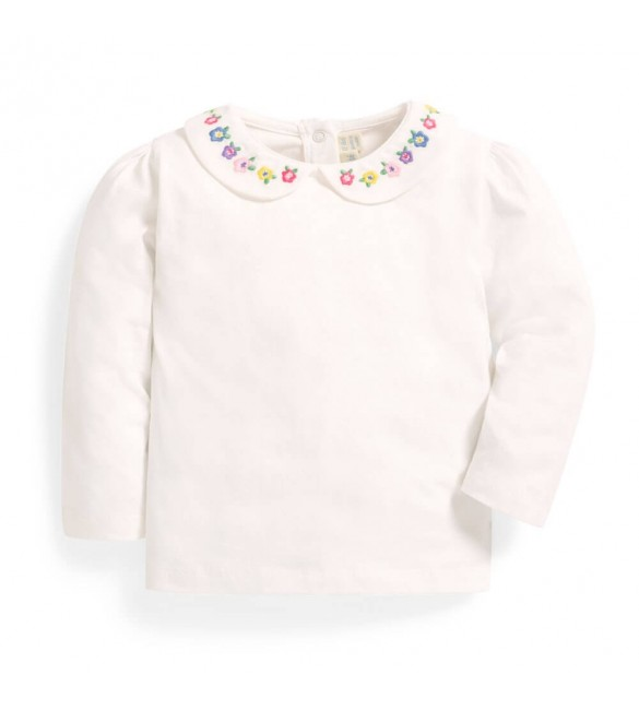 Bluza Embroidered Peter Pan Jojo Maman Bebe