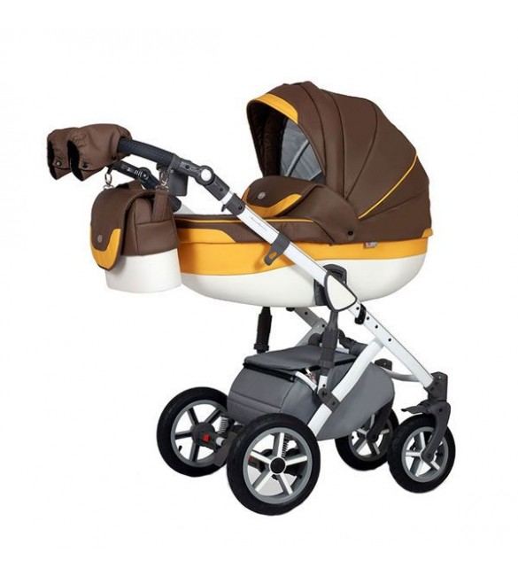 Carucior 3 in 1 Contempo Brown Krausman