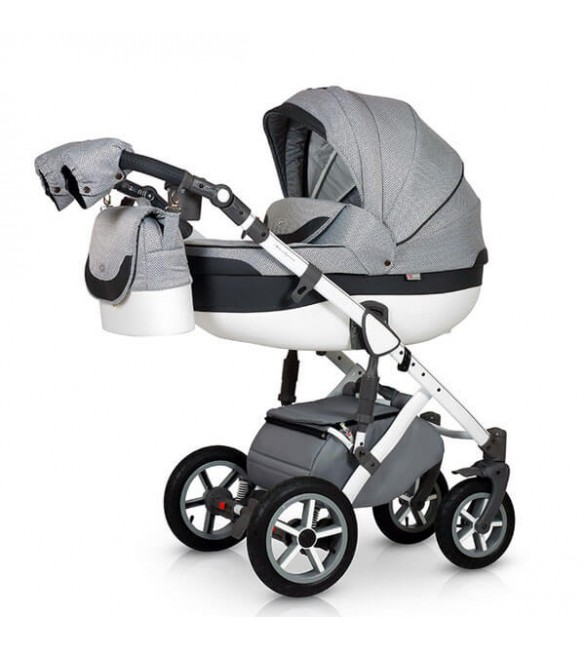 Carucior 3 in 1 Contempo Grey Krausman