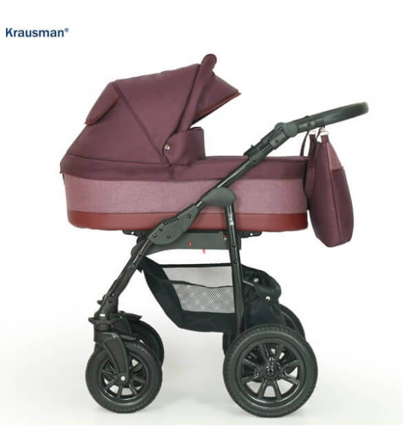 Carucior 3 in 1 Jet Purple, Krausman