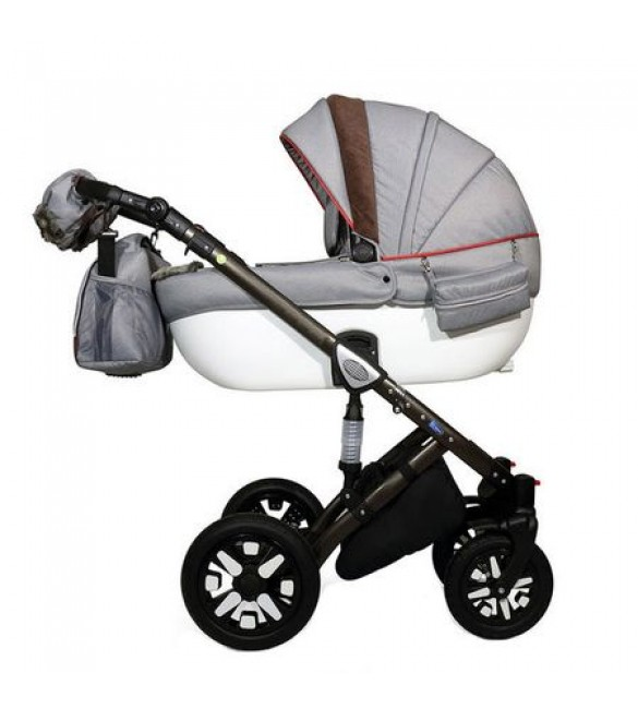 Carucior 3 in 1 Jools Eclipse Grey-Brown Krausman