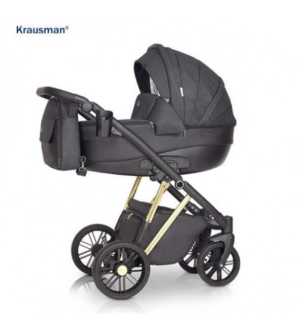 Carucior 3 in 1 LEXXO Gold Black, Krausman