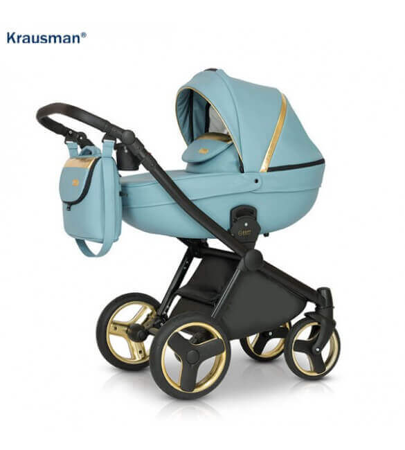 Carucior 3 in 1 Prime Mirage Blue Gold, Krausman