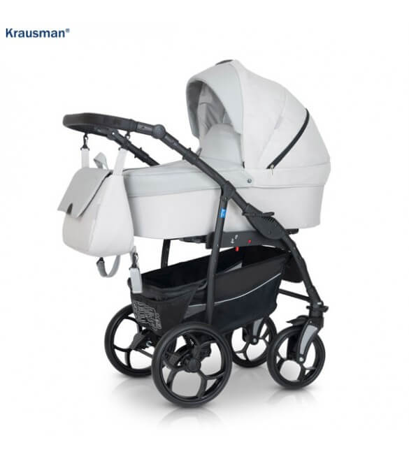 Krausman - Carucior 3 in 1 Combo Max Light Grey