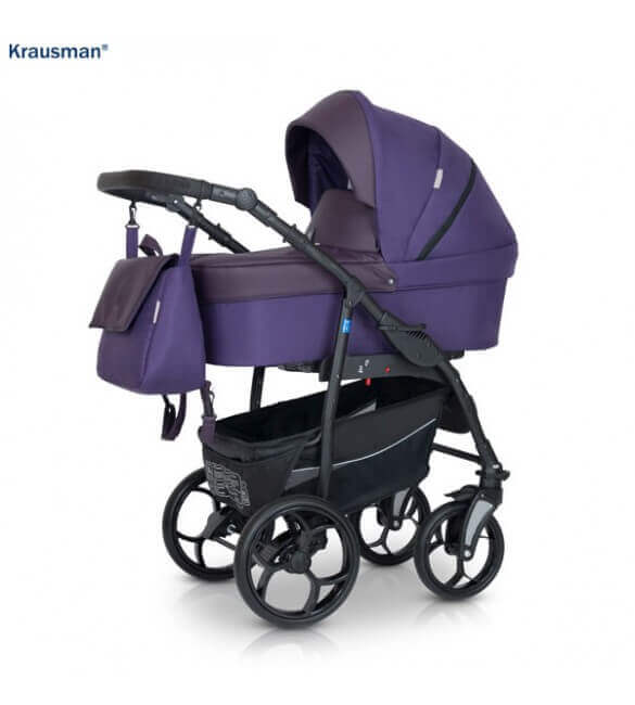 Krausman - Carucior 3 in 1 Combo Max Purple