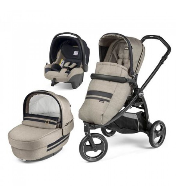 Carucior 3 in 1 Book Scout Matt Black Luxe, Peg Perego