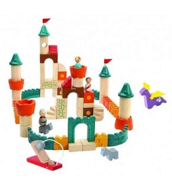 Blocuri de Construit Fantasy Plan Toys