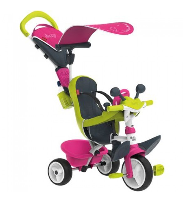 Tricicleta Baby Driver Confort Roz Smoby