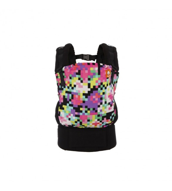 Marsupiu Tula Toddler Canvas Pixelated