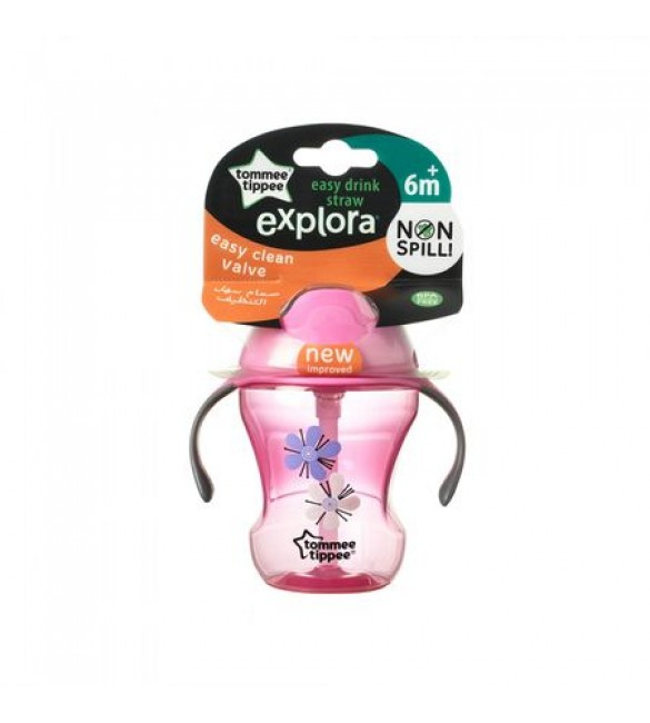 Explora Cana cu pai Easy Drink, Tommee Tippee,  230ml