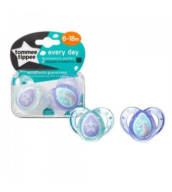 Set 2 Suzete Ortodontice Anytime Tommee Tippee  6-18 Luni